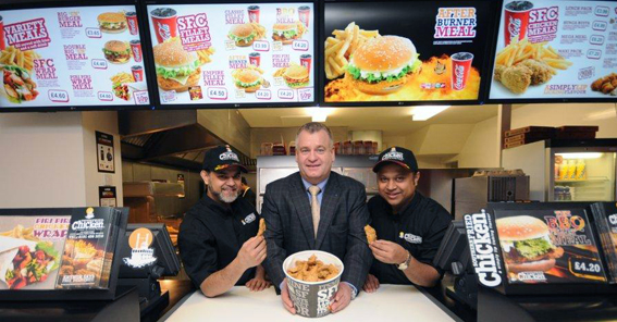 Franchisees £50,000 refit at Southern Fried Chicken, the chicken take ...
