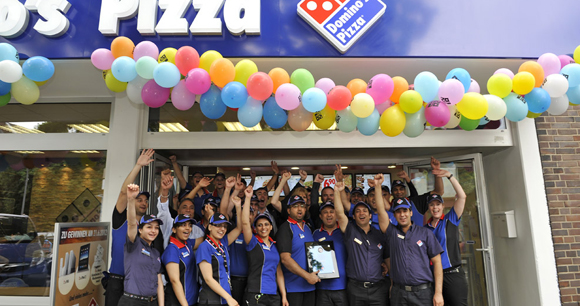 Domino S Pizza 5 000th Store Opened Outside Of The U S