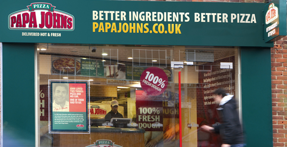 Papa john s pizza delivery success franchise world - Papa john s pizza garden fresh pizza ...