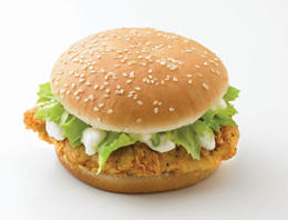 SFC chicken fillet sandwich