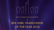 Franchisor of the Year 2016