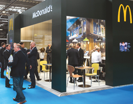 McDonald's exhibition stand