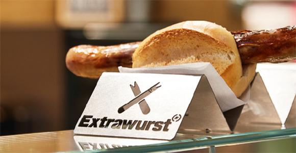 Extrawurst bratwurst bun